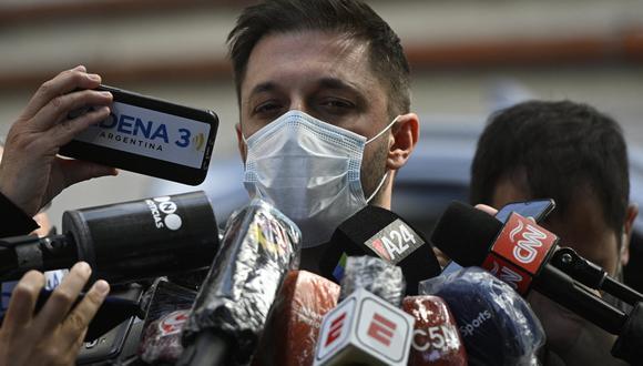 Dalma y Gianinna Maradona acusaron a Morla de ser el responsable del armado del equipo médico que está siendo investigado por presunta negligencia en los cuidados. (Foto: AFP)