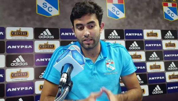 Alfonso García-Miró comenzó en el cargo de gerente general de Sporting Cristal en este año. (Foto: GEC)
