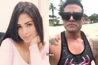 """Pamela Franco y el mensaje que hizo llorar a Christian Domínguez: """"Es el pilar de la casa, mi soporte"""""""
