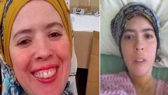 Coronavirus Reino Unido | Fatima Bridle: Covid-19 la mandó 105 días a UCI y regresó a casa con un solo pulmón funcionando. Foto captura de video: YouTube NEWS24
