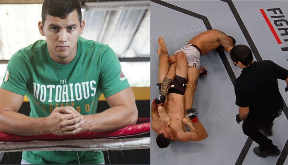 Claudio 'El Niño' Puelles metió su nombre en la historia del UFC. (GEC/ Captura video)