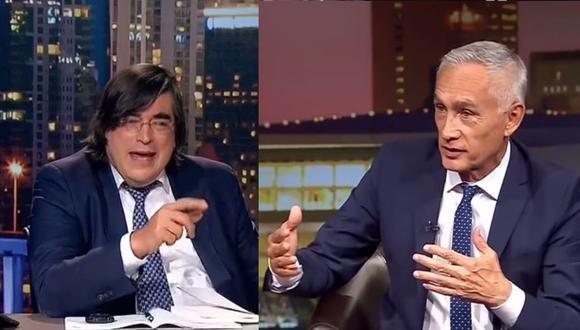 Una imperdible entrevista de Jaime Bayly al periodista Jorge Ramos. (Captura La Mega TV)