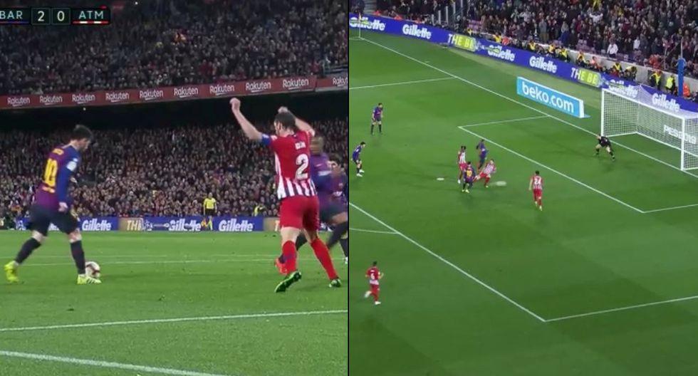 GOLAZO de Messi: Inventó la definición del desprecio en el Barcelona vs Atlético Madrid por LaLiga