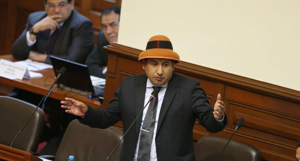 El parlamentario Richard Arce concedió una entrevista a Radioprogramas del Perú (RPP).