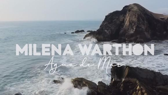 La canción de la joven cantautora obtuvo más de 30 mil reproducciones en solo un día, de acuerdo a datos de la plataforma de música. (Captura de video / YouTube)