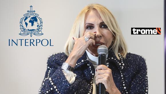 Interpol lanza una orden de búsqueda internacional contra la peruana Laura Bozzo, quien radica en México.