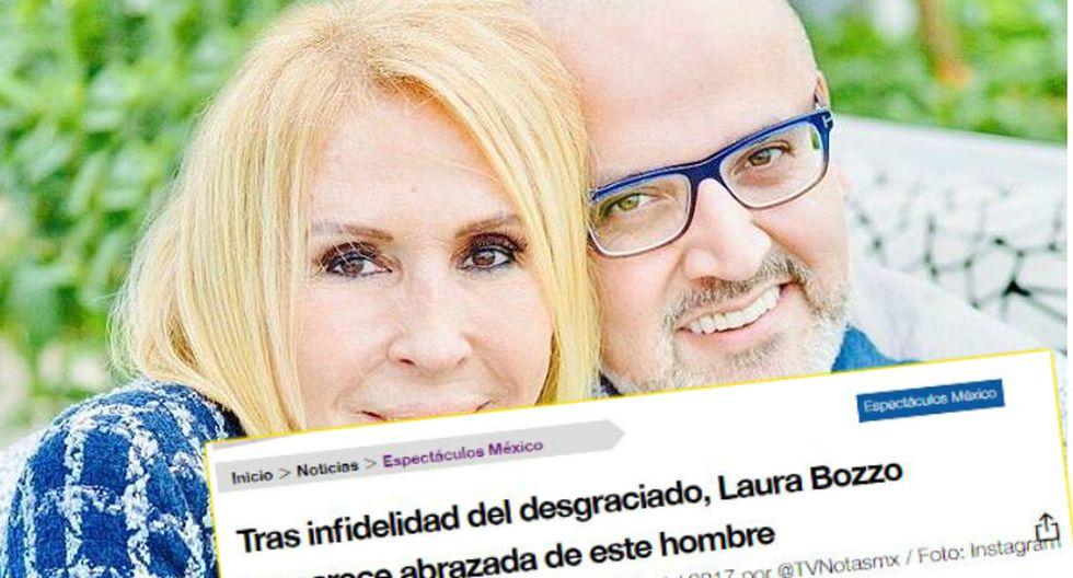 Prensa mexicana se emociona por foto de Laura Bozzo con Beto Ortiz