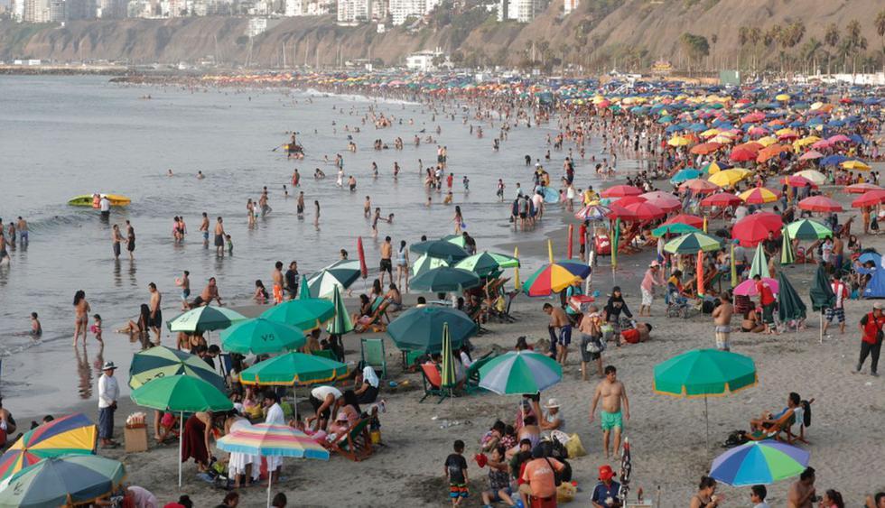 La Dirección General de Salud Ambiental e Inocuidad Alimentaria (Digesa) considera la playa Agua Dulce como no saludable. (Foto: GEC/Referenciales)