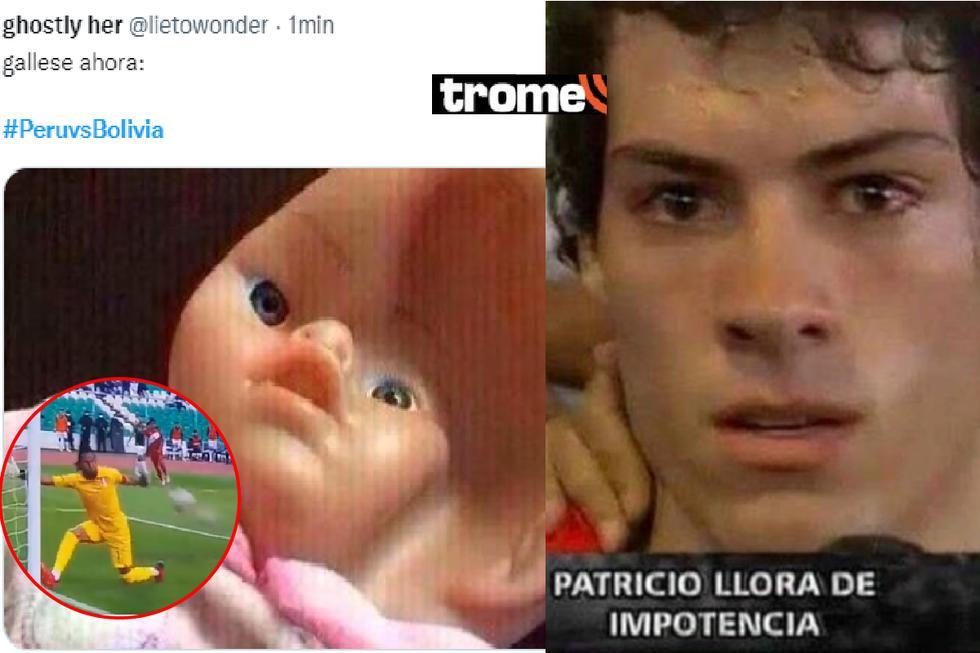 Perú vs Bolivia: Los memes más hilarantes que calientan la fecha 5 de Eliminatorias Qatar 2022. Fotos: Twitter