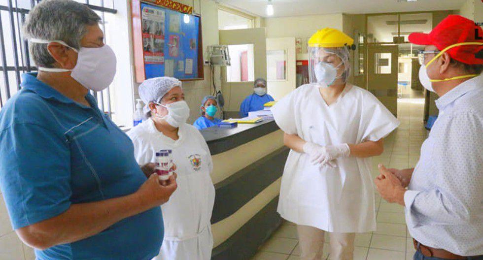 Trujillo: Médico veterinario donó 100 pastillas de ivermectina para pacientes COVID-19 en Laredo. (Foto: Laredo Municipalidad Distrital)