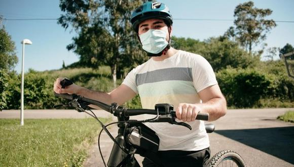 La bicicleta se ha convertido en una alternativa cada vez más usada como medio transporte en esta época de pandemia.