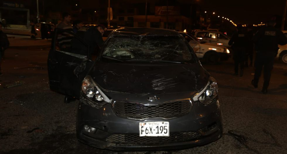 El accidente ocurrió en el cruce de las avenidas Pastor Sevilla con José Carlos Mariátegui. (Foto: José Caja)