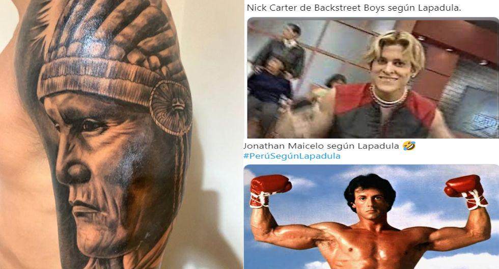Gianluca Lapadula se tatúa un nativo norteamericano, se lo dedica a Perú e hinchas se burlan con crueles memes