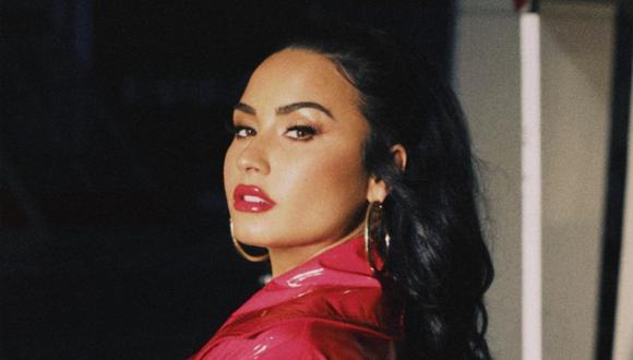 Demi Lovato y el look que lució en los People's Choice Awards 2020. (Foto: @ddlovato)