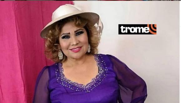 Amanda Portales festejará su aniversario con show presencial, el 20 de noviembre, en el Gran Teatro Nacional.