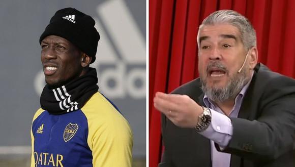 Diego 'Chavo' Fucks , de ESPN, criticó la contratación de Luis Advíncula en Boca Juniors.