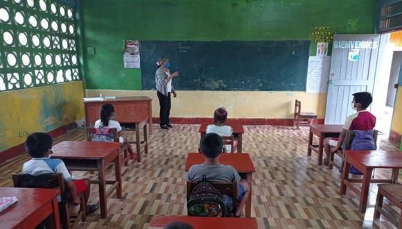 El sector Educación hizo énfasis en que esta decisión le corresponde a la comunidad educativa y a las autoridades regionales y locales (Foto: Minedu)