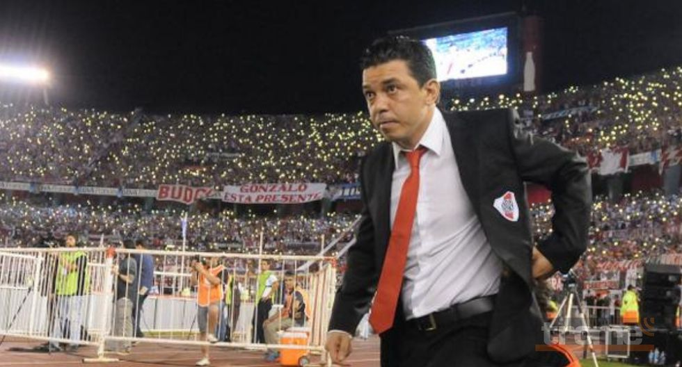 Marcelo Gallardo promete pelear en Madrid lo que le robaron a hinchas de River Plate.