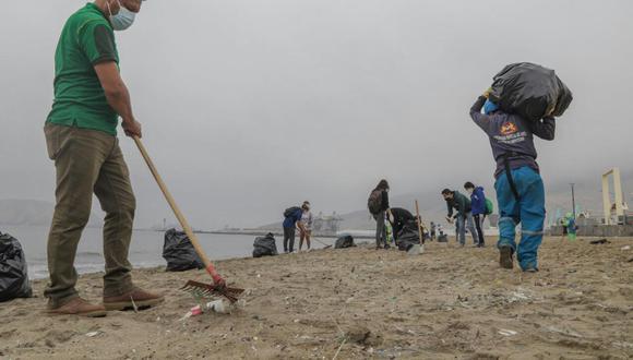 Las jornadas de limpieza se realizarán en toda la costanera comenzando por la playa La Caleta de Chimbote (Foto: MPS)