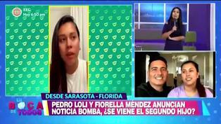 Pedro Loli y Fiorella Méndez podrían estar esperando su segundo hijo, pero ellos no lo confirman y viajan a Estados Unidos | VIDEO