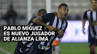 Alianza Lima anunció el regreso de Pablo Míguez luego de seis años