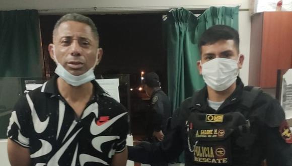 Oswaldo Acevedo fue detenido en flagrante delito cuando atacó con un desarmador a su expareja en el Callao.