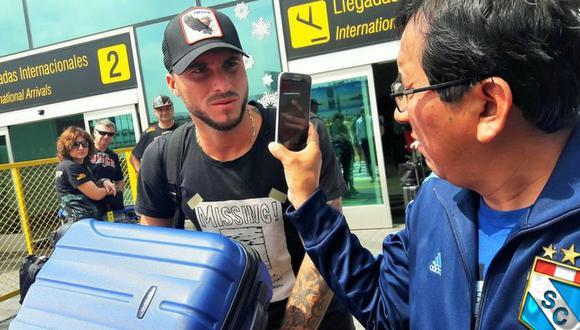 Argentino Emanuel Herrera llegó para ponerse la camiseta de Sporting cristal y empezar la pretemeporada