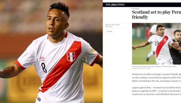 Perú al Mundial: Escocia sería el rival de despedida previo a Rusia 2018