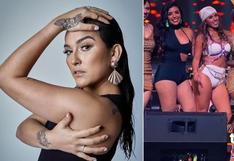 Daniela Darcourt desmintió que esté peleada con Paula Arias, por no haber ido al último show de 'Son tentación', donde estuvo Yahaira Plasencia