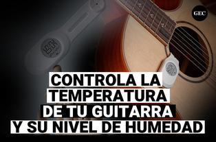 Xiaomi Cleargrass Guitar, el termómetro para controlar el nivel de humedad y temperatura en tu guitarra.