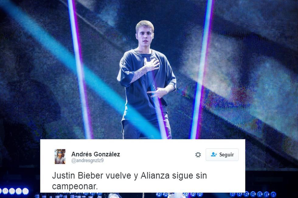 Justin Bieber dará un concierto en nuestro país el 5 de abril de 2017 y sus fans enloquecieron en las redes sociales volviéndolo tendencia.