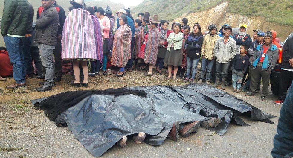 Accidente de bus en Áncash deja como saldo 7 muertos y 15 heridos. (Foto: @@JpPoma)