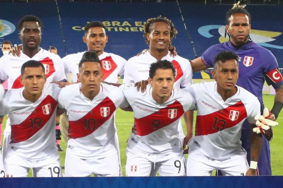Once confirmado de Ricardo Gareca para el partido contra Colombia por Copa América 2021.