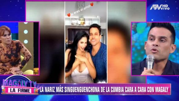 Magaly Medina entrevistó a Christian Domínguez. (Magaly Tv. La firme)
