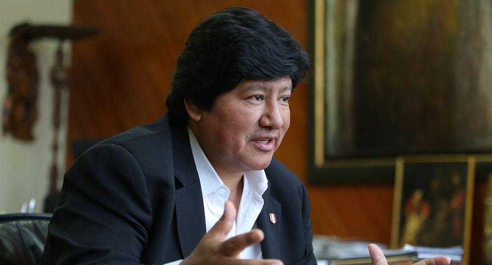 Edwin Oviedo protagoniza varios audios en los cuales coordina una reunión con el suspendido juez supremo César Hinostroza. (Foto: USI)