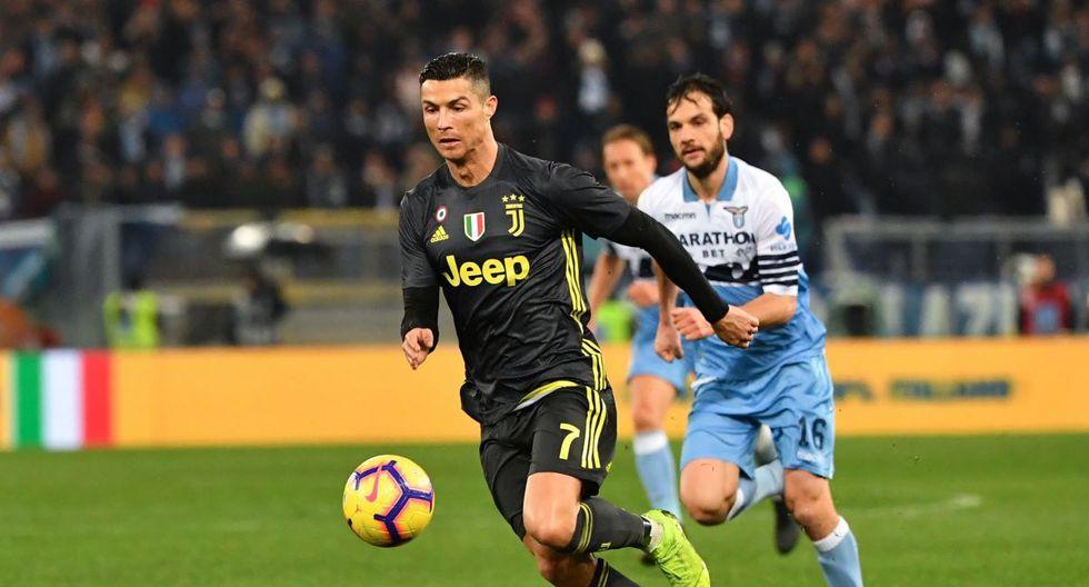 Juventus remontó 2-1 a Lazio con GOLAZO de Cristiano Ronaldo por la Serie A de Italia