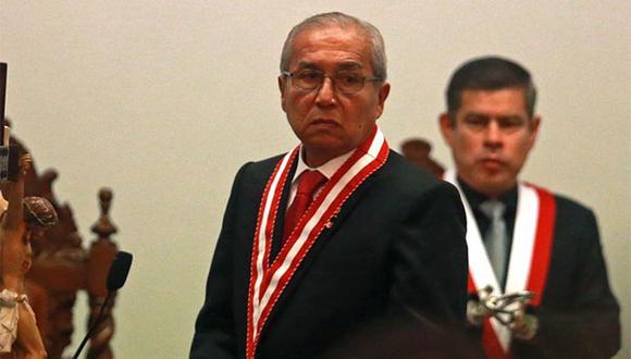 Fiscal de la Nación, Pedro Chávarry, renunció al cargo en medio de cuestionamientos por tratar de hacer cambios en el equipo especial Lava Jato. (Foto: Andina)