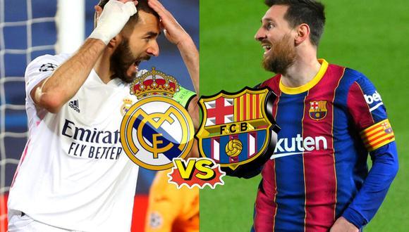 Real Madrid  vs Barcelona: Hora y canal del clásico (Foto: EFE)