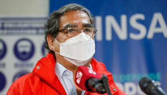 El ministro de Salud, Óscar Ugarte (Foto: Minsa)