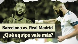Barcelona vs. Real Madrid: ¿Qué club tiene más valor en el mercado?