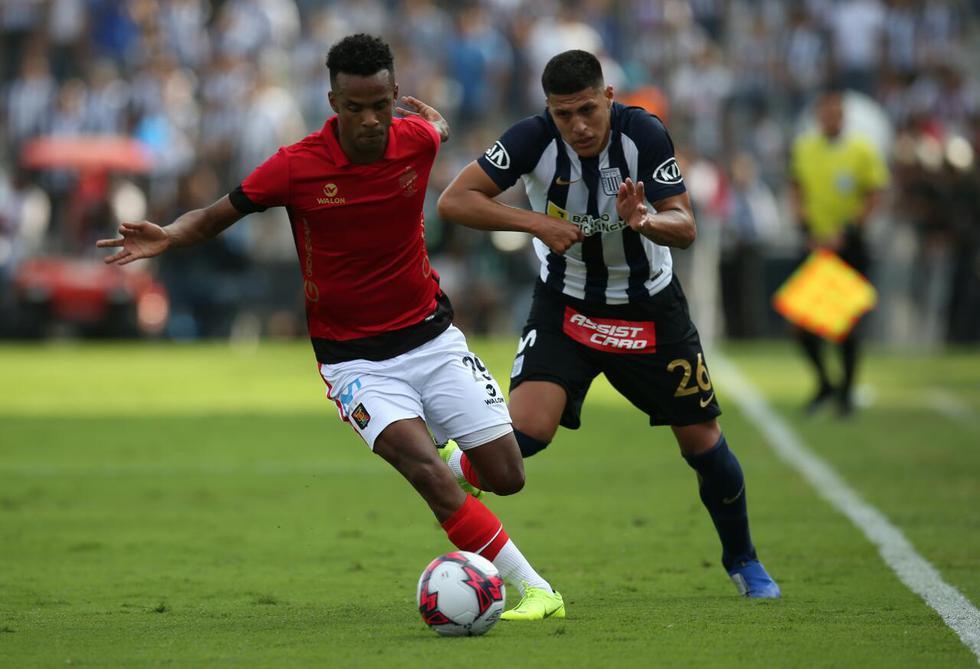 Alianza Lima empató 3-3 ante Melgar en Matute por la semifinal ida del Play Off del Descentralizado 2018 (Foto: Violeta Ayasta | GEC)