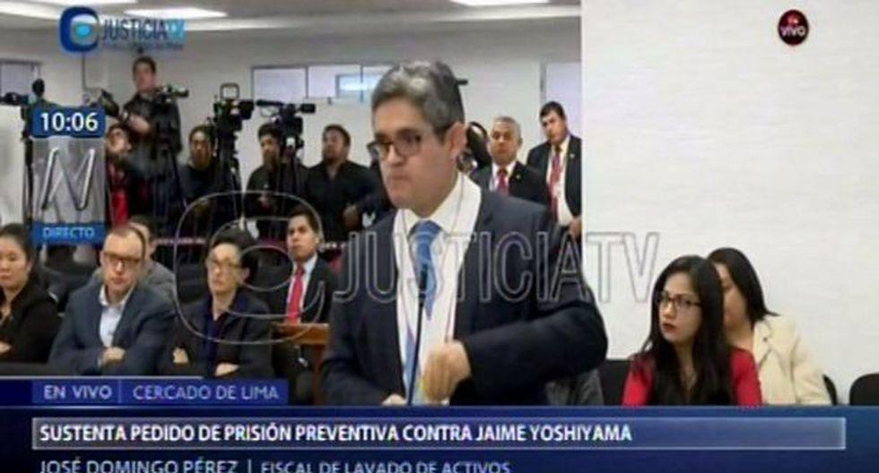 José Domingo Pérez se queda sin voz
