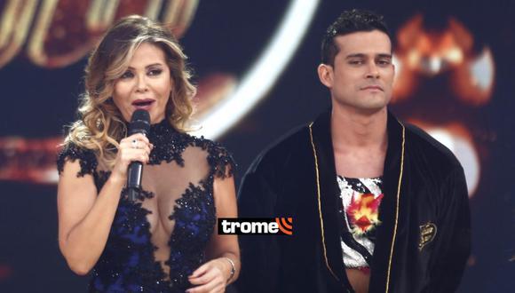 Gisela Valcárcel se pronuncia tras polémica con Christian Domínguez