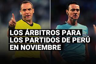 Selección peruana: FIFA confirmó la terna arbitral para los partidos de noviembre en Eliminatorias