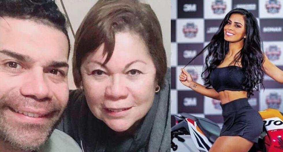 Tomate Barraza, su mamá y su pareja en Instagram
