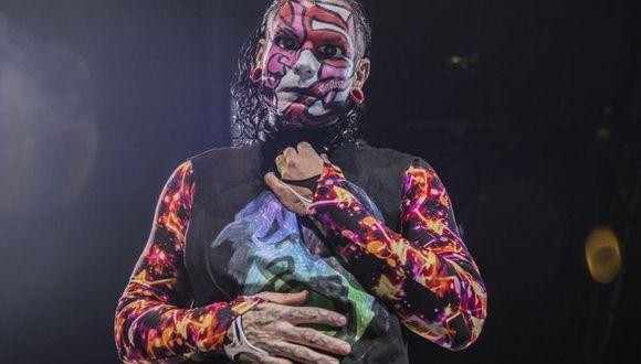 Jeff Hardy reaparecerá en la próxima entrega del 'show azul'. (Foto: WWE)