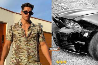 """Patricio Parodi sufre fuerte accidente con su auto: """"Me chocaron"""""""