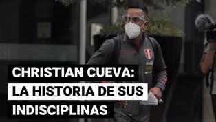 Selección peruana: estos son los casos de indisciplina de Christian Cueva