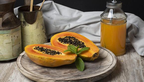 Conoce todos los beneficios que te traerá el consumo de papaya. (Foto: Pixabay)