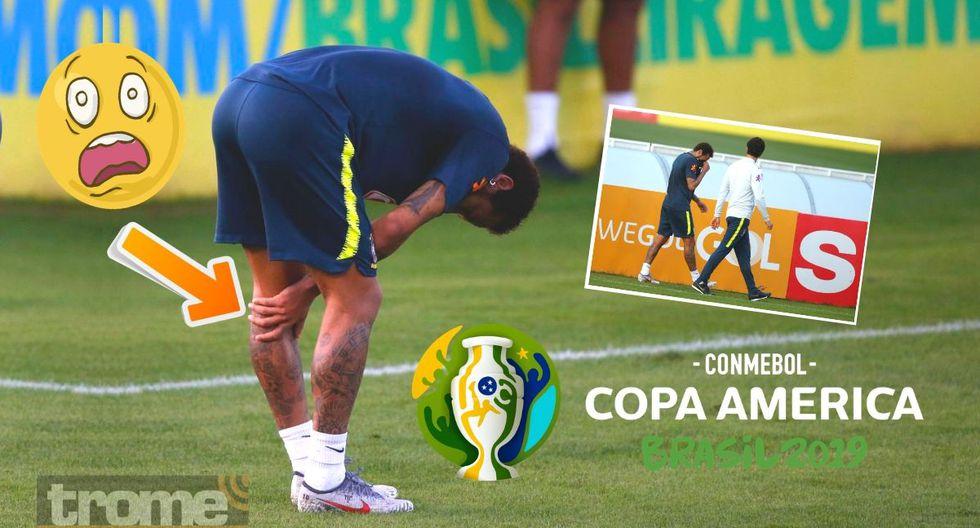 Neymar sufrió esta preocupante lesión y crece preocupación en Brasil